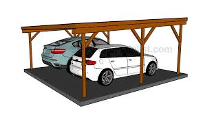 carport design plans how to build a double carport howtospecialist how to build