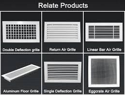 Interior Door Vent Grill Hvac System Linear Bar Stainless Steel Ventilation Grilles Buy