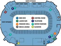 stadium floor plan harbour station patron services