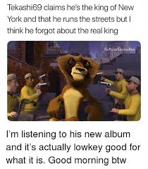Memes New York - tekashi69 claims he s the king of new york and that he runs the