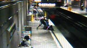crushed by escalator i couldn u0027t watch u0027 video of alleged race related t assault shown
