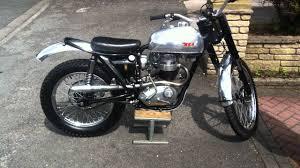 ebay motocross bikes bsa b40 trials bike 1965 road registered 350 ss selling on