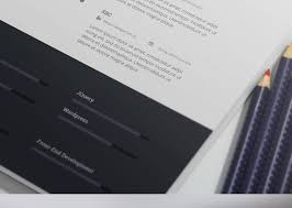 resume free resume template psd 4 colors awesome free resume