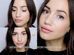 tutorial everyday natural u0026 organic makeup routine youtube