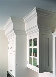 hide the ugly popcorn covered soffets in my kitchen molding to