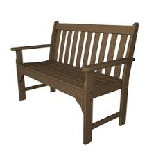 Wood Outdoor Bench Shop Patio Benches At Lowes Com