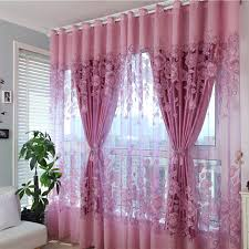 Curtains Set Layer Luxury Window Curtains Set For Living Room European