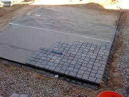 How To Lay Patio Bricks Budget Diy Small Patio My Diy Paver Patio On The Cheap