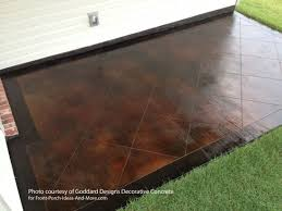 Colored Concrete Patio Pictures Staining Concrete Floor Basics Concrete Stain Sealer Etching