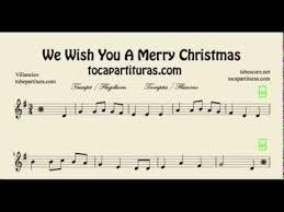 merry christmas sheet music trumpet