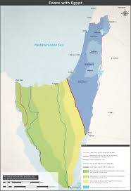 Israel Map 1948 Peace With Egypt Jpg