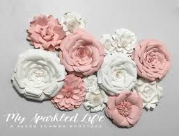 Rose Home Decor Paper Flower Boutique Trends For You And Your By Mysparkledlife