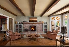 livingroom fireplace 32 spectacular living room designs with exposed beams pictures