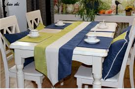Mediterranean Dining Room Furniture by Dining Table Runners Promotion Shop For Promotional Dining Table