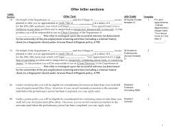 college recommendation letter template template design