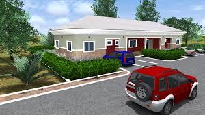 bugalow 2 bedroom semi detached bungalow u2013 9th mile housing estate