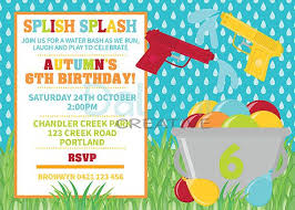Backyard Birthday Party Invitations by Best 25 Water Gun Party Ideas On Pinterest Water Gun Games