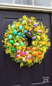 Diy Outside Easter Decorations by Diy Easter Decorations 17 Ideas How To Make A Cute Easter Door