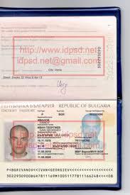 template bulgaria passport psd www idpsd net passport psd