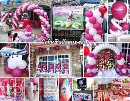 Balloon Decoration For Birthday At Home by Cebu Balloons And Party Supplies Maranga Home Decor Ideas