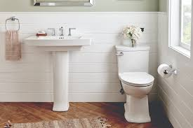 Matching Pedestal Sink And Toilet American Standard Townsend Bath Collection Expands With Elegant
