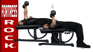 Flat Bench Dumbell Dumbbell Flat Bench Chest Press Best Benches