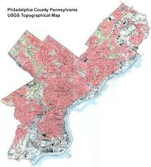Pennsylvania Map Cities by Pennsylvania County Usgs Maps