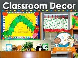 How To Decorate Nursery Classroom Wall Decoration For Preschool Classroom Classroom Wall Decorations