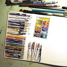 30 best sketching kit images on pinterest art supplies