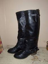 womens boots size 11 1 2 breckelles outlaw boots ebay