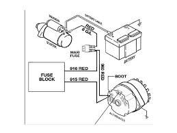 single wire alternator diagram