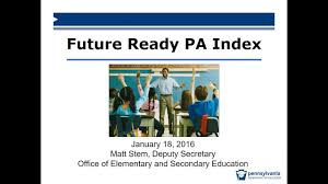future ready pa index webinar 1 youtube