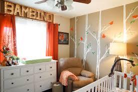 Orange Nursery Decor by A Fox Themed Nursery For Britain Fox Project Nursery