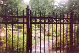 ornamental aluminum fencing in newton worcester boston