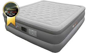 Most Comfortable Inflatable Bed Plush High Rise King Size Air Mattress With Air Bed Pump