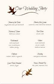 Printable Wedding Programs Free Wedding Program Templates Free African Program Samples