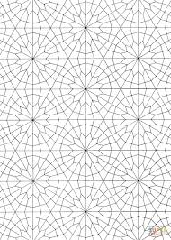 islamic pattern coloring free printable coloring pages
