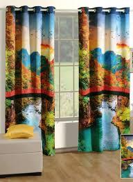 Premium Curtains Buy Swayam Digital Premium Cosmo Fashion Curtain India