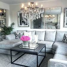 home by decor modern chic decor pretty gray living room decor modern glam by