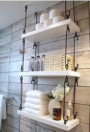 Wrought Iron Bathroom Shelves 17 Inspiring Rustic Bathroom Decor Concepts For Cozy Residence