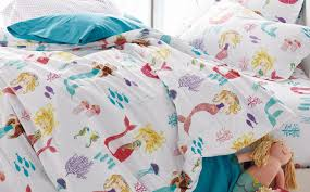 best sheets ever bedding set beautiful mermaid toddler bedding set babyboom nick
