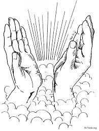homely design praying coloring page free pages inofations