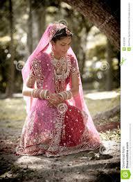indische brautkleider junge schöne indische hindische braut die unter baum sitzt