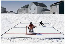 Backyard Rink Liner by Home Rinks Backyard Ice Hockey Rink Starter Kit Pure Goalie