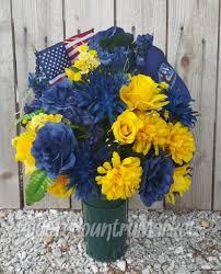 Graveside Flower Vases Reserved For Debbie Us Navy Memorial Flowers Cemetery Vase