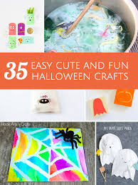 Easy Halloween Craft Projects - hello wonderful 35 easy cute and fun halloween crafts