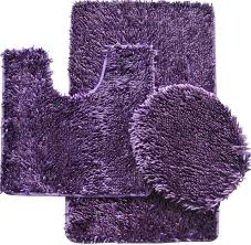 Bathroom Mats Set by Purple Bathroom Mat Sets Thedancingparent Com