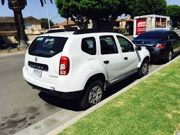 great news the dacia duster has been spotted in california
