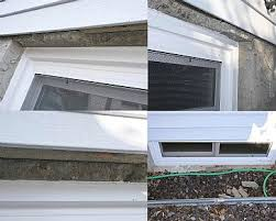 Enlarging Basement Windows by Basement Window Needs Lintel