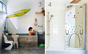 bathroom decor for kids with white wall ideas home kids bathroom decor ideas 2017 modern house design